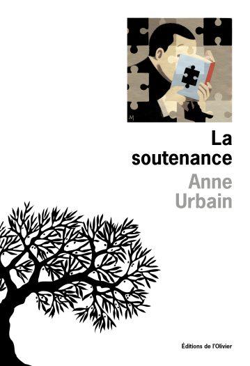 Couverture du roman La soutenance écrit par Anne Urbain